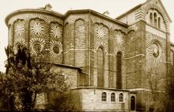 Nickenich, Rheinland-Pfalz, Pfarrkirche St. Arnulph, 1846–1849